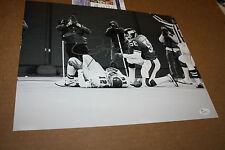 NEW YORK GIANTS LAWRENCE TAYLOR SIGNED 11X14 PHOTO HOF 1999 JSA CERT CUNNINGHAM