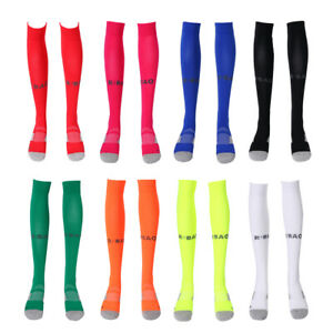 Cotton Football Socks Long Stockings for Running Climbing Hiking Outdoor Sports
