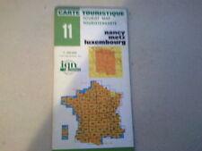 CARTE IGN FRANCE 1/100000 -  NANCY METZ LUXEMBOURG -   EDITION DE 1980