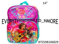 "Disney -Princess Elena Of Avalor 14"" Girls School Backpack-6829"