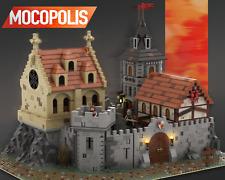 LEGO MOC Medieval Castle 2   PDF instructions (NO PARTS)