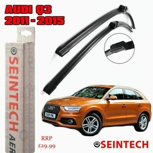 """SPECIFIC FIT FRONT WINDSCREEN WIPER BLADES 24""""20"""" FOR AUDI Q3 2011-2015"""