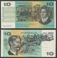 AUSTRALIA - 10 Dollars ND (1974-91) Pick 45b  VF