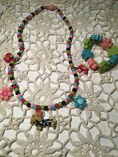 Gymboree Smart and Sweet necklace bracelet jewelry set accessories EUC NWOT HTF