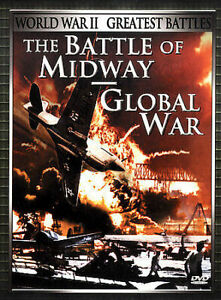 World War II DVD Greatest Battles: The Battle of Midway / Global War DOCUMENTARY