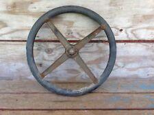 "Antique Model T Steering Wheel - 16 1/2"" Diameter"