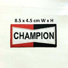 Champion Extreme Sports Bike MX Iron On Sew On Patch Badge Tshirt Jacket #A39