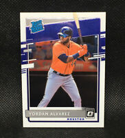2020 Optic Rated Rookie Yordan Alvarez RC Houston Astros #45