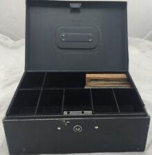 Coin / Money Metal Box With Paper Coin Sleeves