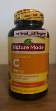 Vitamin C 500mg Chewable 70 Tablets Antioxidant Immune Support Nature Made