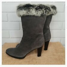 Aquatalia by Harman Prince Boots With Fur Women Size 9