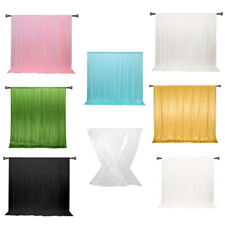 10 ft x 10 ft Photography Backdrop Drapes Curtains Wedding Backdrop