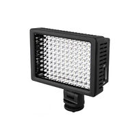 Pro HD-160 LED Hot Shoe Video Light +3 Color Filter For DSLR Canon Nikon Pentax