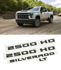 2020 Chevrolet New Body Silverado 2500 HD LT Black Emblem Kit 84402407 OEM GM