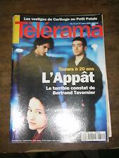 Télérama N° 2356 1995 Appat Bertrand Tavernier Jean Luc Godard JLG Alagna TV