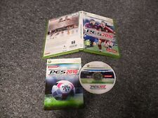 GENUINE XBOX 360 GAME - PES 2010 EVOLUTION SOCCER  - COMPLETE - TESTED
