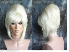 High Cone Beehive 60's Patsy Style Womens/Mens Drag? Blonde/White/Auburn Wig