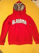 Genuine Stuff NCAA Univ. of Alabama hoodie jacket Big Al Size 8 boys