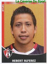 050 HEBERT ALFEREZ MEXICO FC.ATLAS GUADALAJARA PRIMERA DIV APERTURA 2010 PANINI