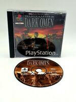 Warhammer: Dark Omen (Sony PlayStation 1, 1998) PS1 Tested and Working Free P&P