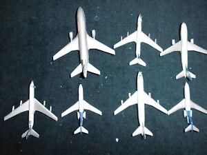 Flugzeug Konvolut - nr. 7 old Planes (nr. 6 Schuco - nr. 1 Matchbox) - Metall -
