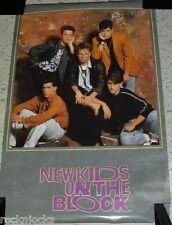 New Kids On The Block Poster 1990 (Original Not A Remake) Vintage 80s Music Pop!