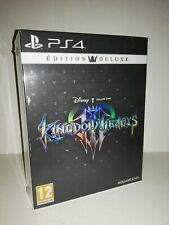 Kingdom Hearts III 3 Deluxe Edition PS4 Square Enix New Pal France
