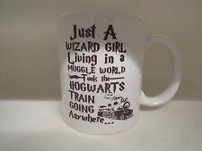 Just a Wizard Girl Living in a Muggle World 11oz Ceramic Mug Mugs