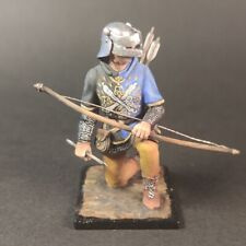 Tin Soldier,54mm, Archer with a Burgundy cross.Sineus