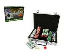 Set Poker In Valigetta Texas Holde'm Gioco Professionale 200 Fiches Carte Dadi