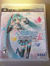 Hatsune Miku Project Diva 2nd - PS3 PlayStation 3 - NEUF sous blister Ntsc
