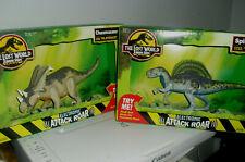 The Lost World Jurassic Park Spinosaurus and Chasmosaurus