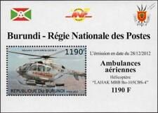 EUROCOPTER EC135 Korean Air Ambulance Helicopter Aircraft Stamp Sheet #2 (2012)