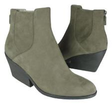 new sz 7 EILEEN FISHER ankle boots gray Shadow Suede leather booties  'Peer'