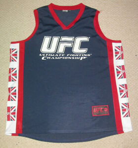 UFC VEST TOP SHIRT XXL , MMA KSW K1 BJJ JIU JITSU GYM MUAY THAI KICK BOXING NEW