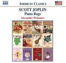Scott Joplin - Piano Rags [New CD]