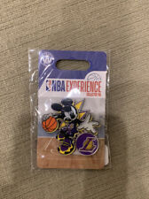 Mickey Mouse NBA Experience Pin Los Angeles Lakers - In Hand