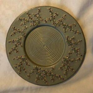 Stoneberry Large Ceramic Candle Plate Yankee Candle