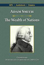 The Wealth of Nations - Unabridged MP3 CD Audiobook in DVD case