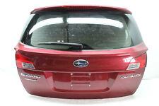 2014 Subaru Outback Tronco Coperchio Rosso H20 OEM 10 11 12 13 14