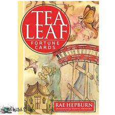 Tea Leaf Card Deck by Rae Hepburn Fortune Telling Cards