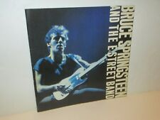 VINTAGE BRUCE SPRINGSTEEN THE RIVER TOUR 1980 SOUVENIR CONCERT PROGRAM BOOK