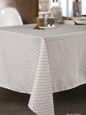 Nappe en tissu 150X300 cm Shanghai taupe