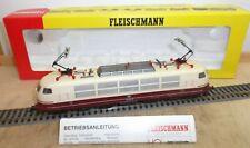 Fleischmann H0 4376 DC IC/TEE E-Lok E 103 150-9 rot/creme der DB geprüft in OVP