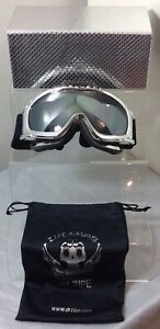 DR.ZIPE Ski/Snowboard Filtcat 3 Googles with Sleeve and Case