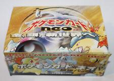 Pokemon EMPTY Japanese Neo Genesis Booster Box Store Display