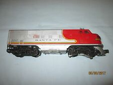 Lionel #2243 Santa Fe F3 Diesel Powered A Unit. Runs Well.