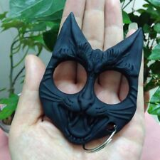 Plastic Cat-Self-Defense Tools Portable Key Chain Travel Safe Women Girl Black
