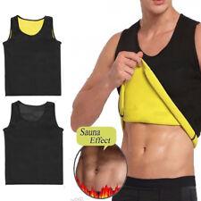 Men's Neoprene Slimming Vest Cami Hot Shaper Gym Women Sauna Sweat Thermal Belt