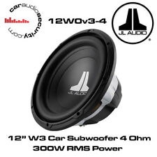 "JL Audio W0 12W0v3-4 12 ""Pollici 300mm 300 WATT 4 OHM CAR SUBWOOFER SUB 12W0"